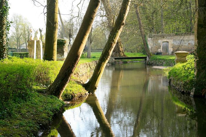 Les photos des jardins ch teau de canon en normandie for Circuit jardins anglais